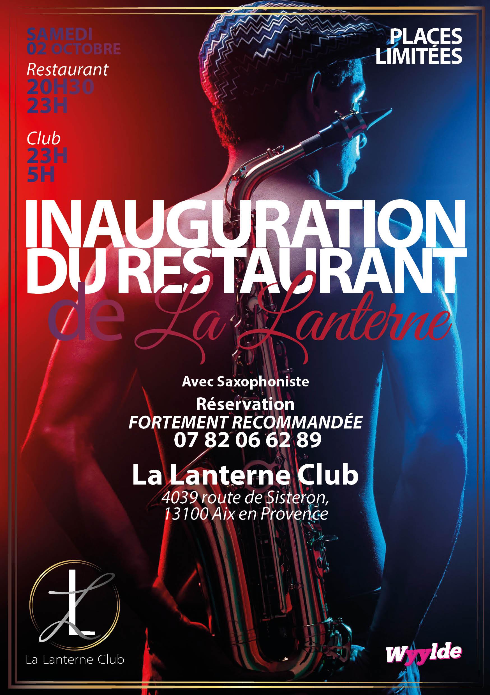 Inauguration restaurant la lanterne