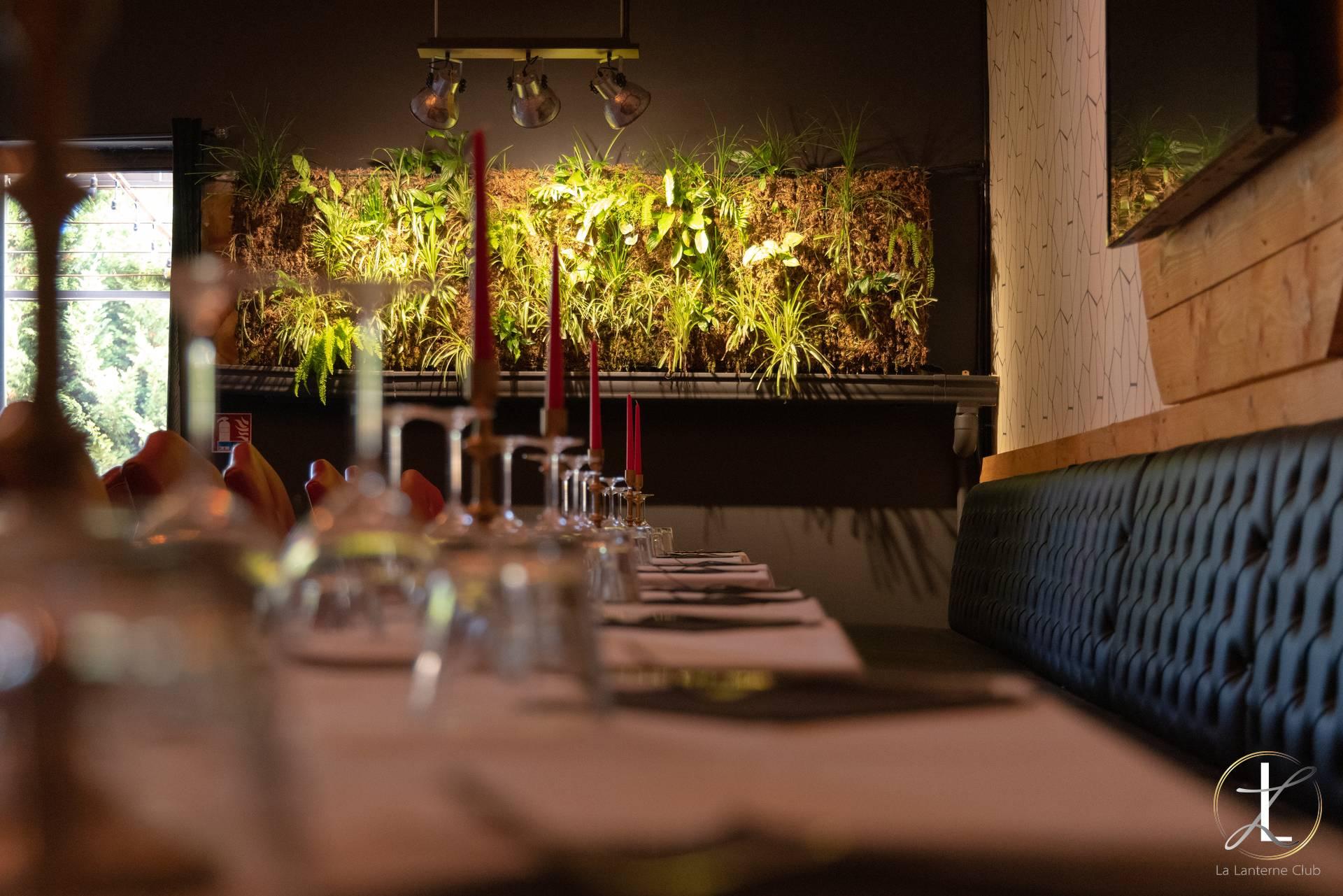 Lanterne Club Aix Restaurant sexy