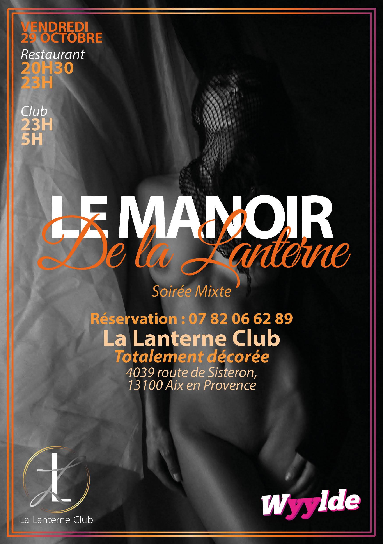 soiree mixte vendredi Manoir de la Lanterne